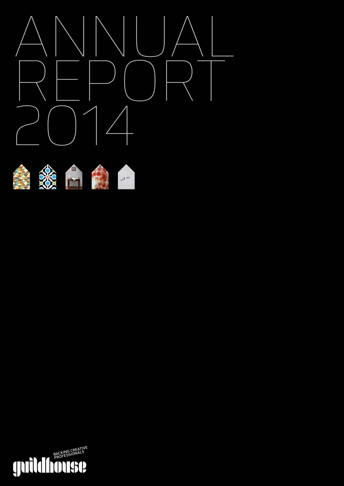 Guildhouse 2014 Annual Report front cover