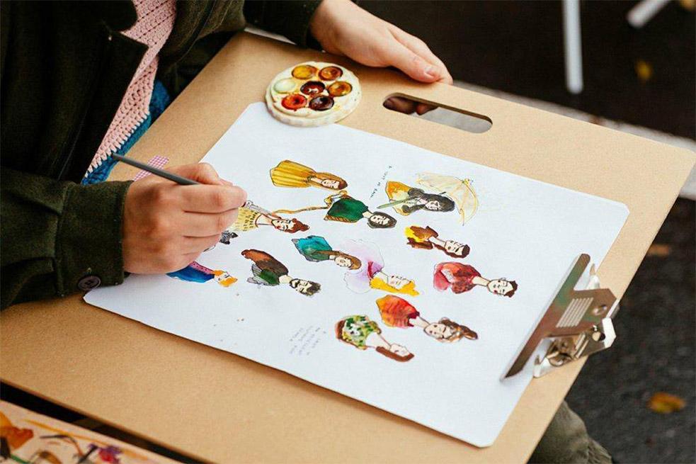 ART WORKS: Storytelling through Illustration
