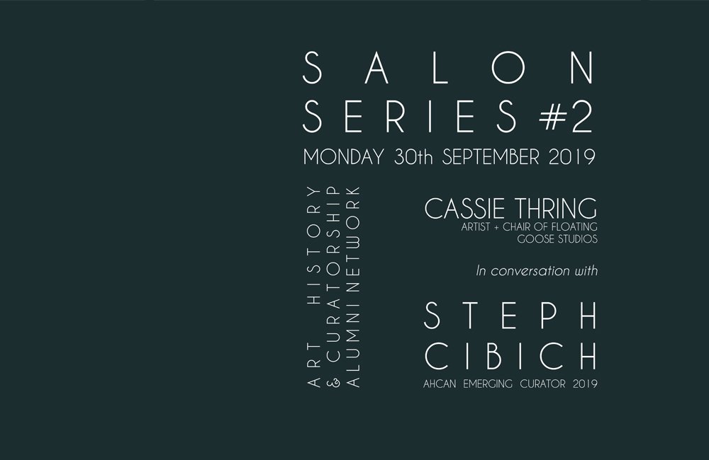 ART WORKS: Cassie Thring in conversation with Steph Cibich