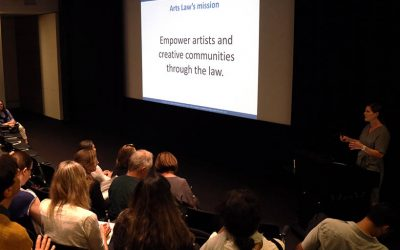 Brush with the Law: Contracts, copyright and intellectual property with Arts Law Australia