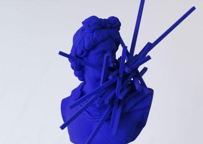 Image: Tom Borgas, 'Hyperobject Armature (Apollo)', 2019. Photograph: courtesy the artist.