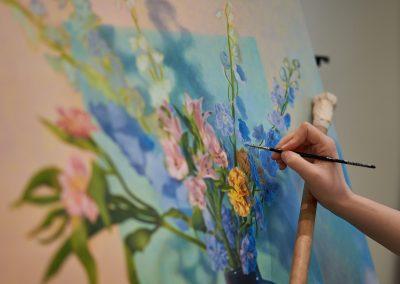 Guildhouse_Jasmine Anne Dixon_at work in art pod_Aug 2020_0009_LoRes