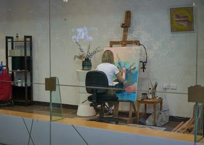 Guildhouse_Jasmine Anne Dixon_at work in art pod_Aug 2020_0014_LoRes