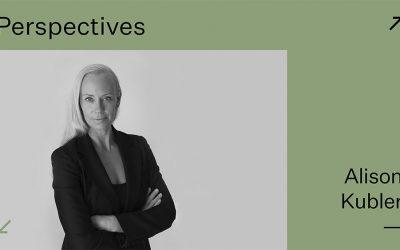Perspectives: Alison Kubler