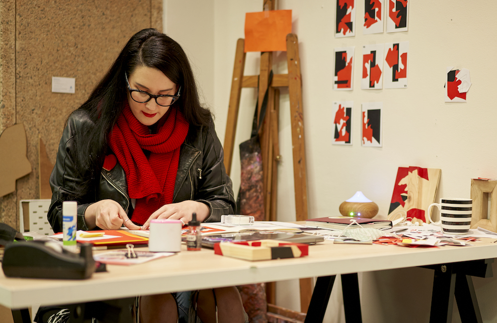 Collage workshops with Ruby Chew